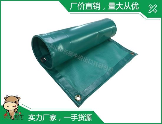 草绿色夹网布