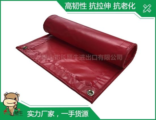 红色涂塑布